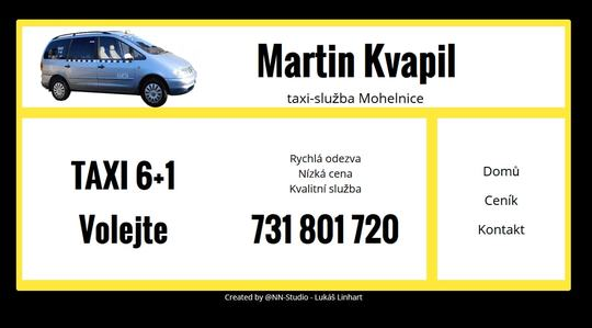 Taxi Mohelnice